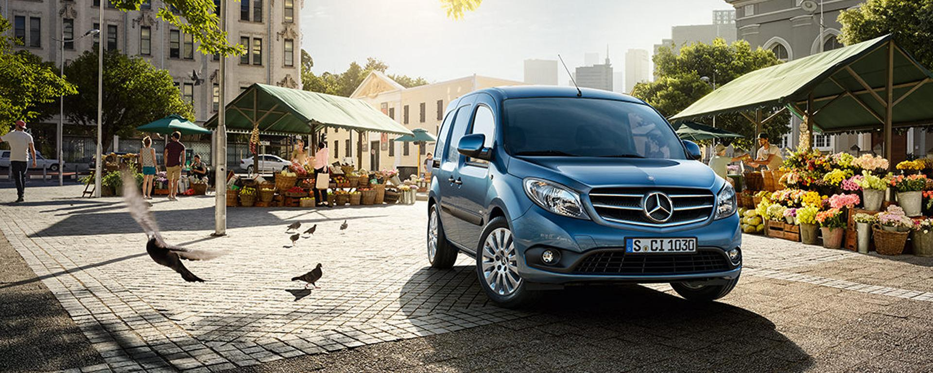 Mercedes-Benz Citan leasen