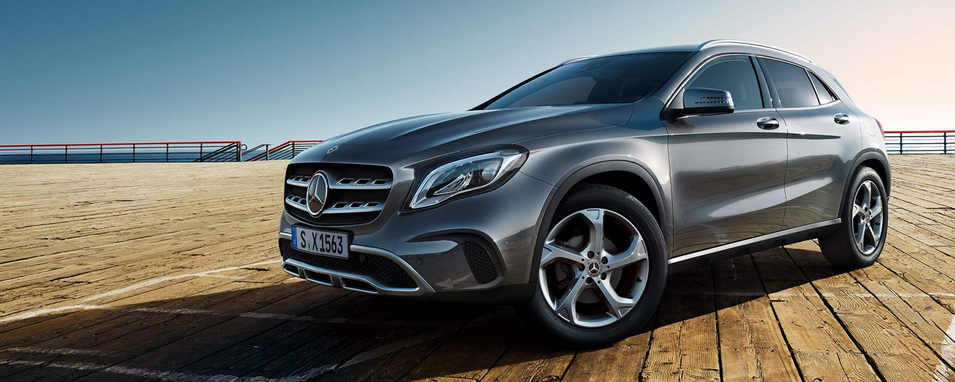 Mercedes-Benz GLA leasen