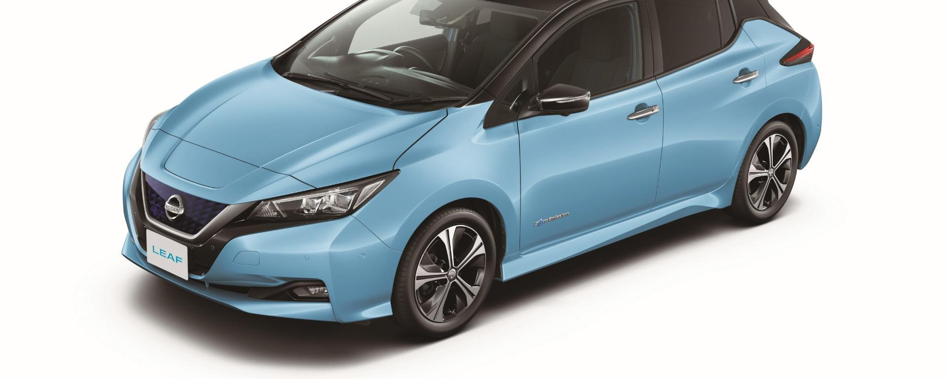 Nissan Leaf leasen