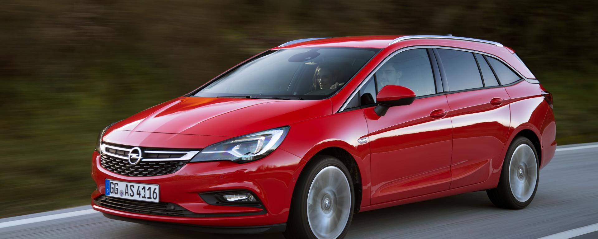 Opel Astra Sports Tourer leasen